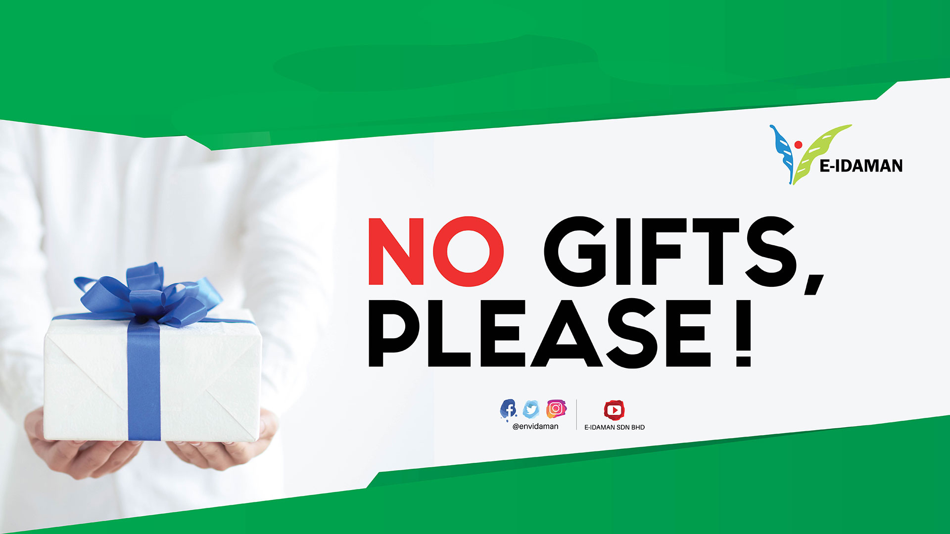 No Gifts, Please!