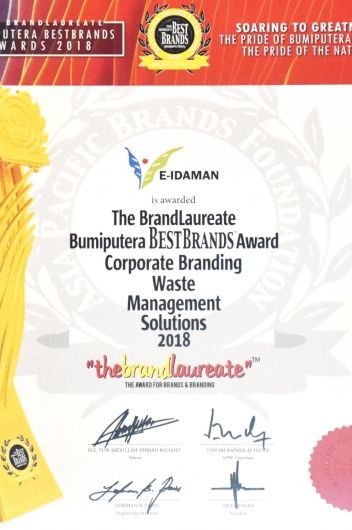 The BrandLaureate Bumiputera Best Brands Award