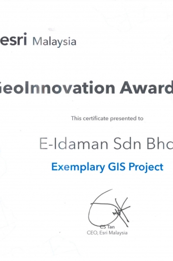 GeoInnovation Award 2019